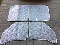 Fiat Ducato 2002-2006 Internal Silver Screens