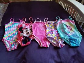 5 x swimming costumes age 2-3