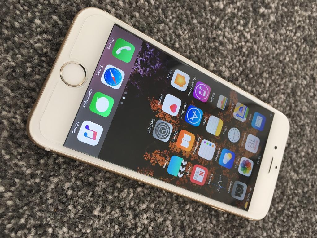 iPhone 6Unlocked 16GB Goldin Tower Hamlets, LondonGumtree - iPhone 16GB Gold Unlocked to all networks.Fully working with no problems. Screen has no scratches. It also has a screen protector on. Any questions feel free to call or text. Thank you for watching