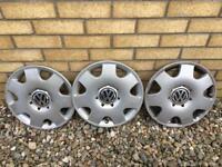 VW hubcaps