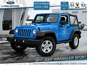 2011 Jeep Wrangler **SPORT*4X4*CRUISE*A/C**
