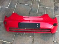 2005 New Beetle front bumper and front wings - Red (code: LG3L)