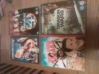 Dvds, various titles £1 each