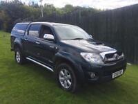 Toyota hilux invincible 3ltr d4d 61reg fsh all main dealer double cab pick up 4wd