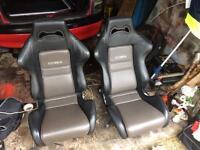 Corsa b cobra bucket seats
