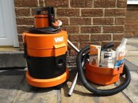 Vax wet + dry vacuum cleaner,also cleans upholstery.