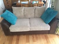 Sofa settee bed few months old selling due to moving in smaller place