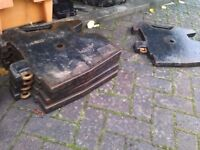 Massey Ferguson Tractor Weights x 5