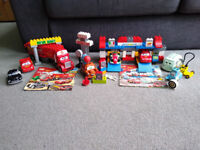 Lego Duplo Disney Cars bundle - discontinued Mack, Pit Stop and Mater sets