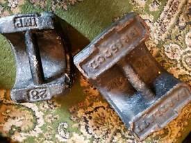 Antique weights - door stops?