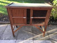 One Floor Solid Wood Guinea Pig/ Rabbit Hutch.