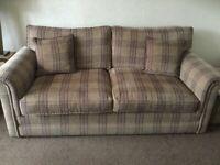 Three Piece Suite plus footstool Parker Knoll