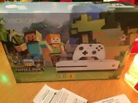 Microsoft Xbox One S 500 GB Minecraft Edition BRAND NEW UNOPENED