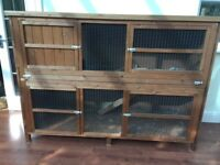 Huge Guinea pig/ rabbit hutch. Great condition, kept inside. Measures 1.8x1.3x0.65m