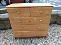 Chest of Drawers FREE to first one who collects