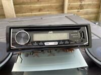 JVC Car radio and speakers