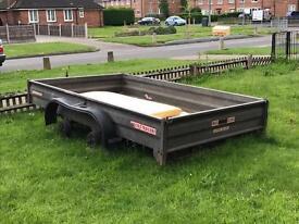 Wessex twin wheel trailer