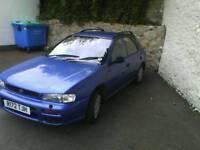 Subaru impreza 2.0 gl AWD (1997)