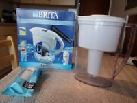 BRITA WATER FILTER - EXCELLENT CONDITION, HARDLY USED - WITH CARTRIDGE
