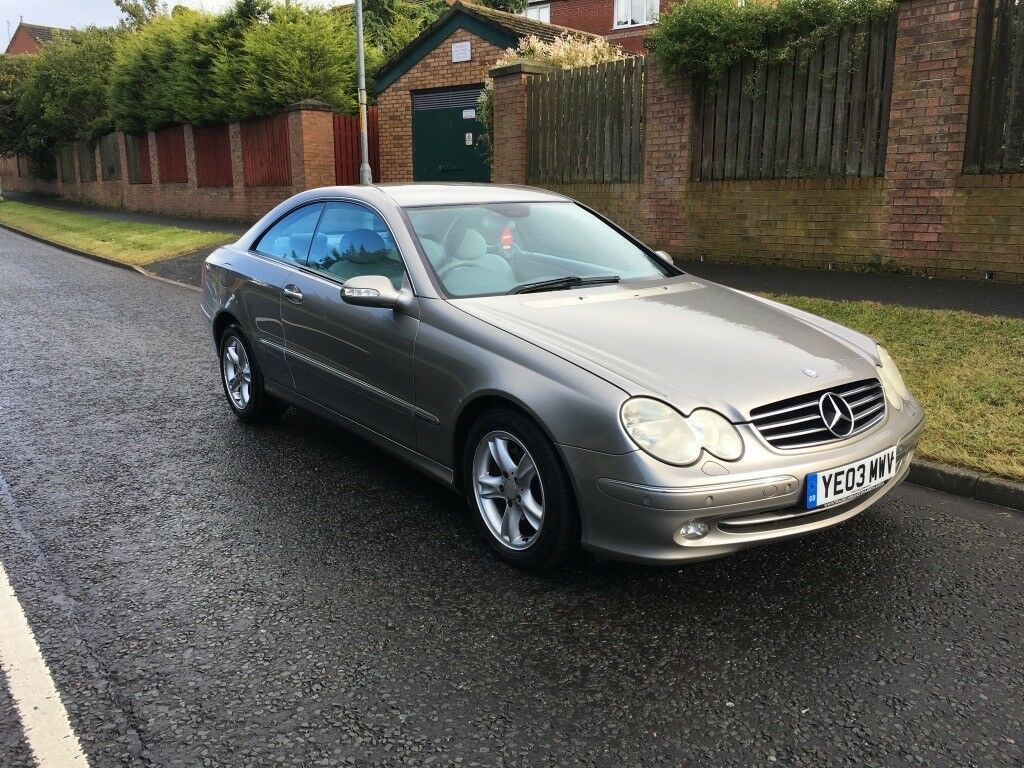 Mercedes Benz CLK 270cdi Avantgarde Auto, 129k with Service History, June 2018 MOT