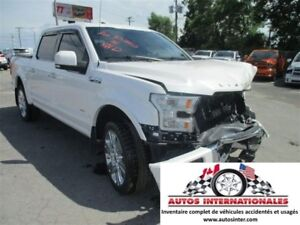 2016 Ford F-150 LIMITED 4X4 V6 ECO EN MARCHE