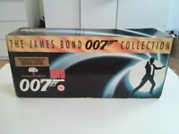 James Bond 007 Film Collection - Limited Edition Box Set of 17 VHS Videos