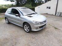 PEUGEOT 206 QUICKSILVER FSH NEW MOT IDEAL FIRST CAR