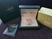 Rolex Watch Automatic Movement silver and gold coloured