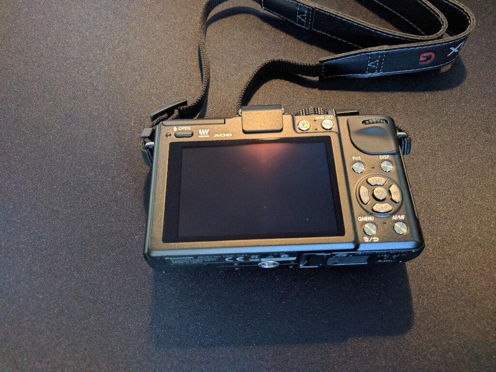 Panasonic DMC-GX1 micro 4/3rds camera body