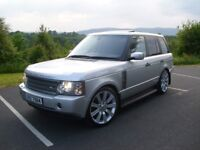 """LAND ROVER RANGE ROVER TD6 """" VOUGE """" 22 """" ALLOYS """" BMW X5 AUDI Q7 MERCEDES ML SPORT DISCOVERY XC90"""