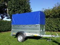 New Trailer cars (6 x 4 x 2,17) double broadside and cover 100cm- £750 inc vat