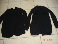 Two Black Cardigans