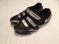 Shimano Women's Road Bike Cycling Shoes SPD SL R076 | Black | Size 40