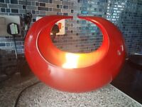 large red lamp