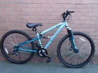 Ladies full suspension mountain bike