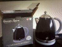 New black swan kettle retro style