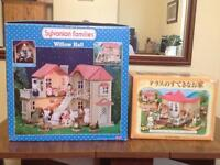 Sylvanian Families - Willow Hall - w/ Extension