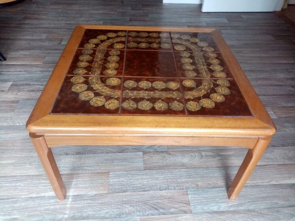 Fabulous Retro Tiled Coffee Table In Elgin Moray Gumtree Machost Co Dining Chair Design Ideas Machostcouk