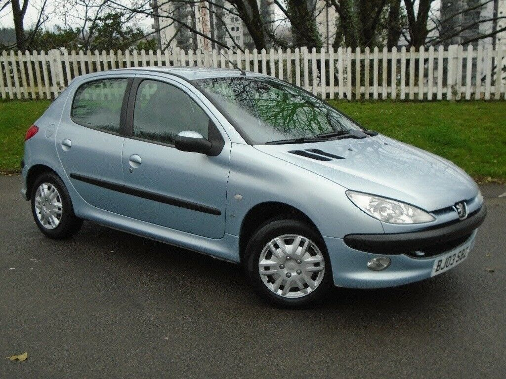 2003 (03) Peugeot 206 1.1 LX | 12 MONTHS MOT | LOW TAX AND INSURANCE ...