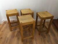 Kitchen/bar stools (x4)