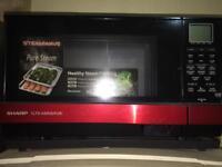 Sharp 900 watt microwave grill and steamer