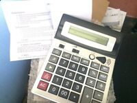 Big Buttoned Calculator. BRAND NEW!!!