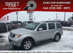 2005 Nissan Pathfinder LE, Loaded; Leather, Roof and More !!!!