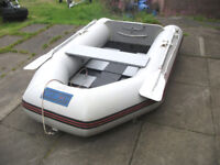 Seago 8ft Dinghy with 2.5hp Suzuki outboard