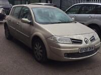 quick sale Renaul Megane Dynamique A 1.6 Fully automatic Mot93k miles genuine warranted 111BHP
