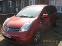 2008 NISSAN NOTE 1.4 ACENTA FSH GOOD CONDITION