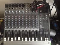 Mackie 1402-VLZ3 14 channel Mic/Line Mixer with flight case