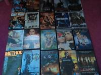Over 150 DVDs and boxsets