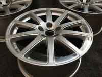 "GENUINE AUDI TT MK2 SPEEDLINE 18""INCH ALLOY WHEELS, S-LINE"
