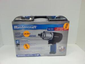 Mastercraft Air Tool Combo Kit 1/2 Inch Impact Wrench. We Buy and Sell Used Tools! (#50176) AT0810463